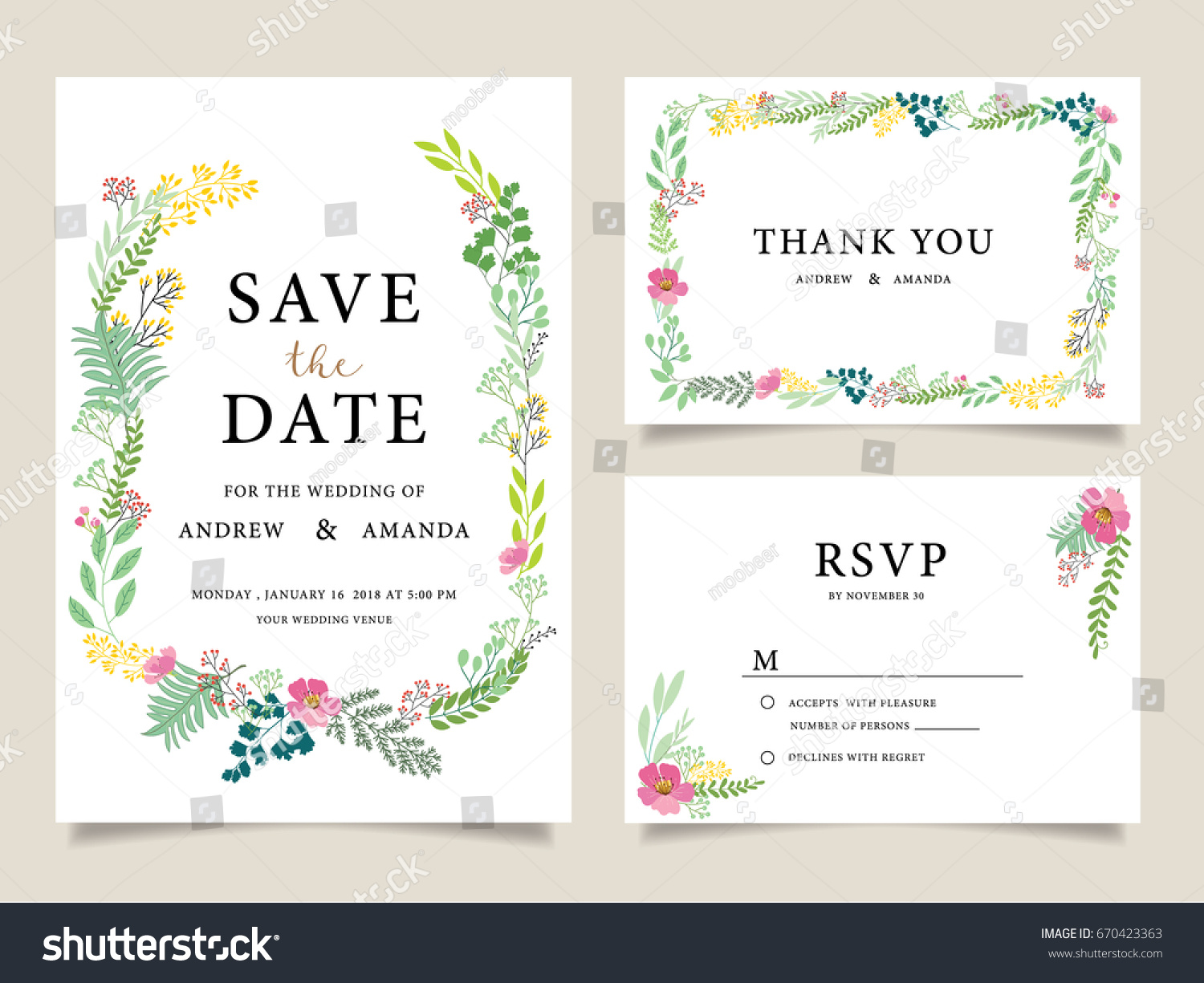 Wedding invitation card template text stock vector 670423363 wedding invitation card template text stock vector 670423363 shutterstock stopboris Images