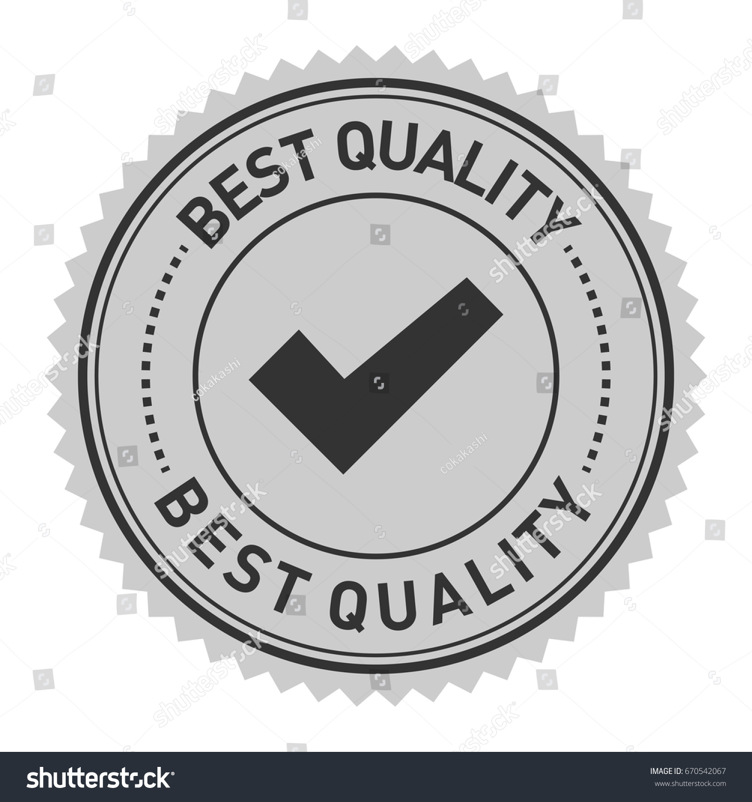 Best Quality Word Check Mark Symbol Stock Vector Royalty Free