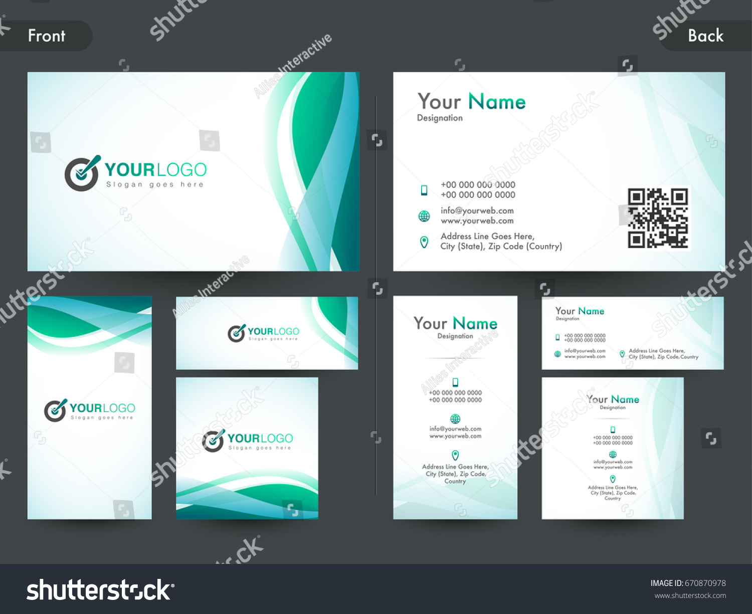 Creative business card name card visiting stock vector 670870978 creative business card name card visiting stock vector 670870978 shutterstock reheart Images