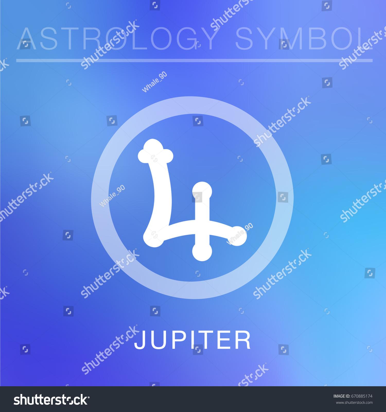 Jupiter Astrological Symbol Topsimages