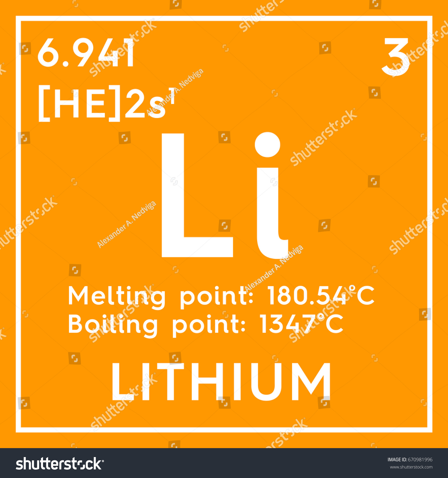 Periodic table caesium gallery periodic table images lithium alkali metals chemical element mendeleevs stock chemical element of mendeleevs periodic table lithium in square gamestrikefo Image collections