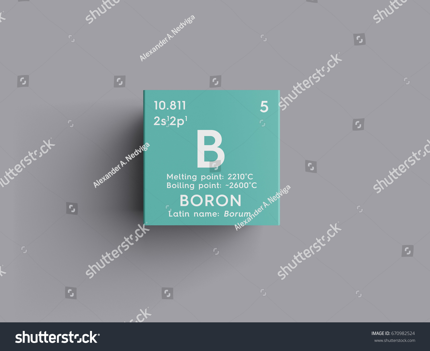 boron chemical element mendeleevs periodic table stock illustration 670982524 shutterstock