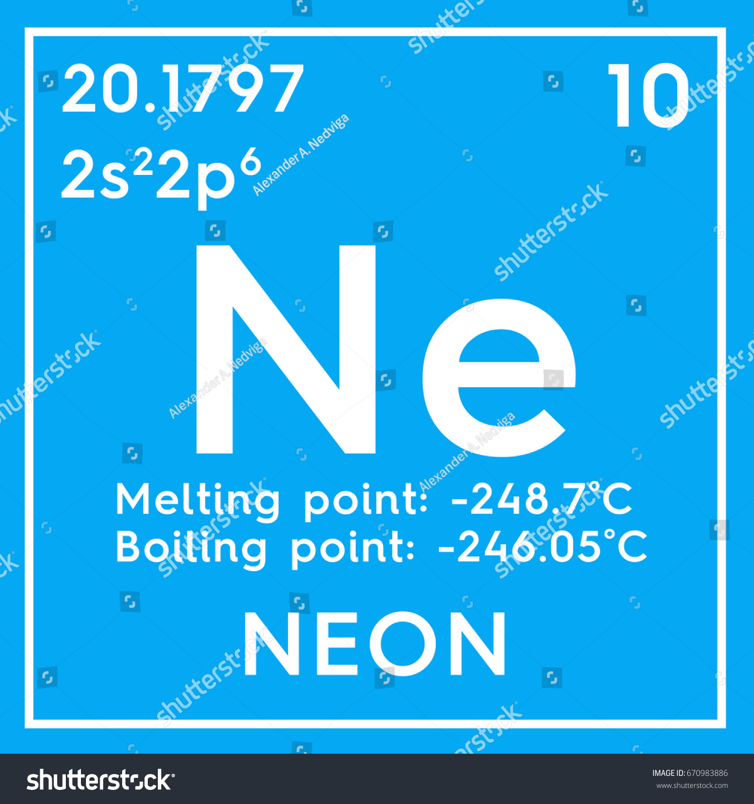 Neon noble gases chemical element mendeleevs stock illustration neon noble gases chemical element of mendeleevs periodic table neon in square cube gamestrikefo Images