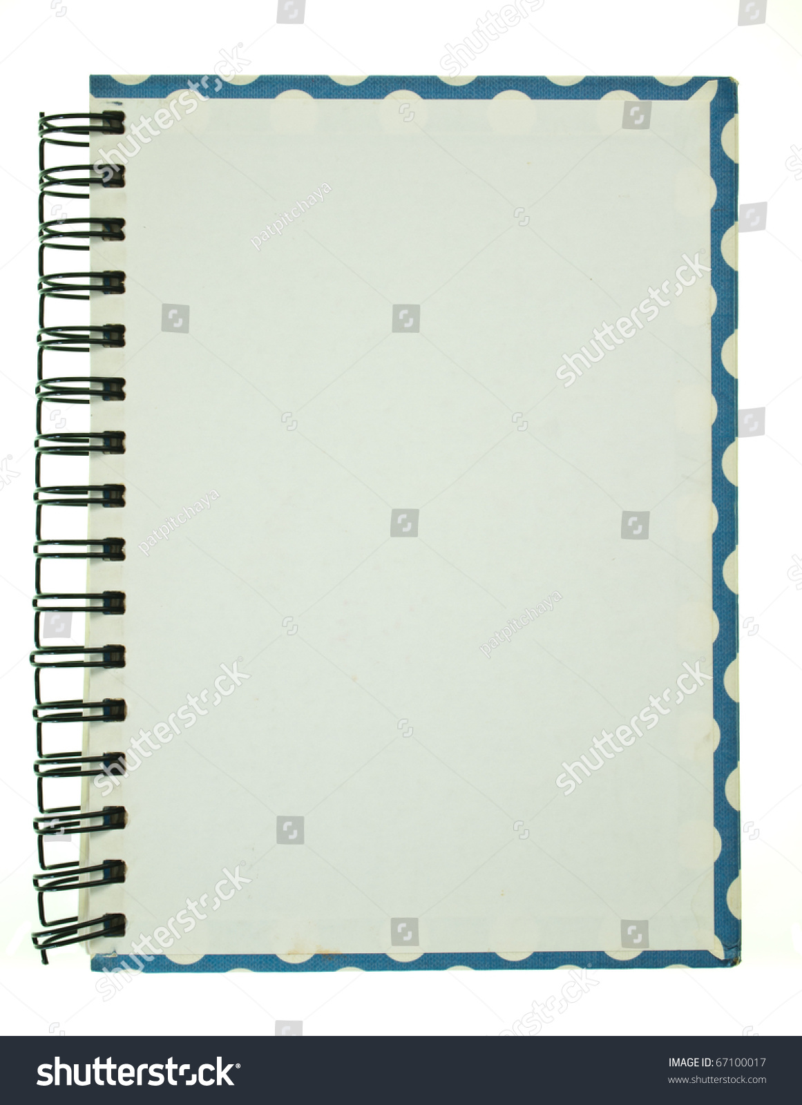 Notebook Cover Background : Back cover designs border spiral notebook stock photo
