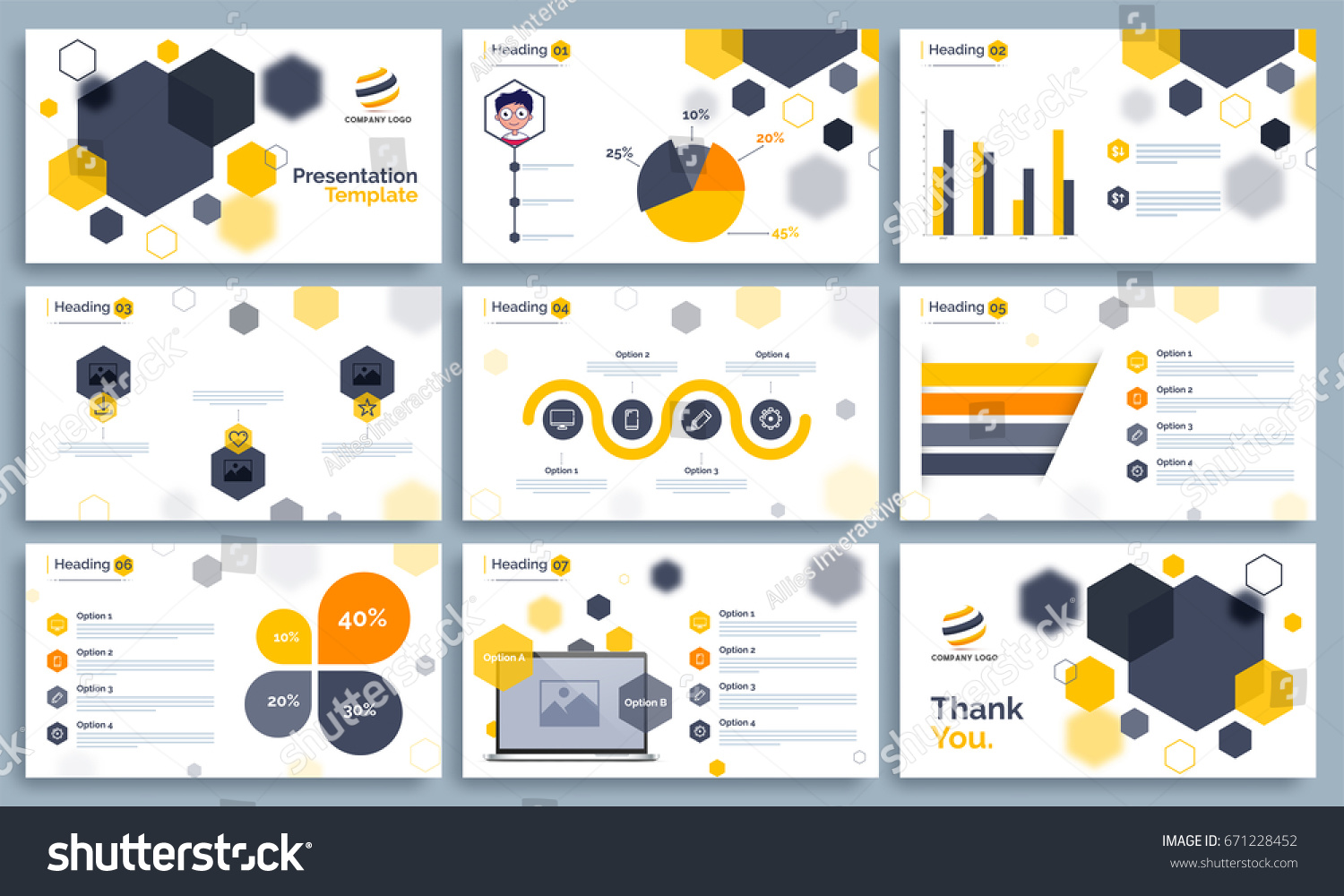Business presentation templates set statistical infographis stock business presentation templates set with statistical infographis elements powerpoint template design background flashek Images