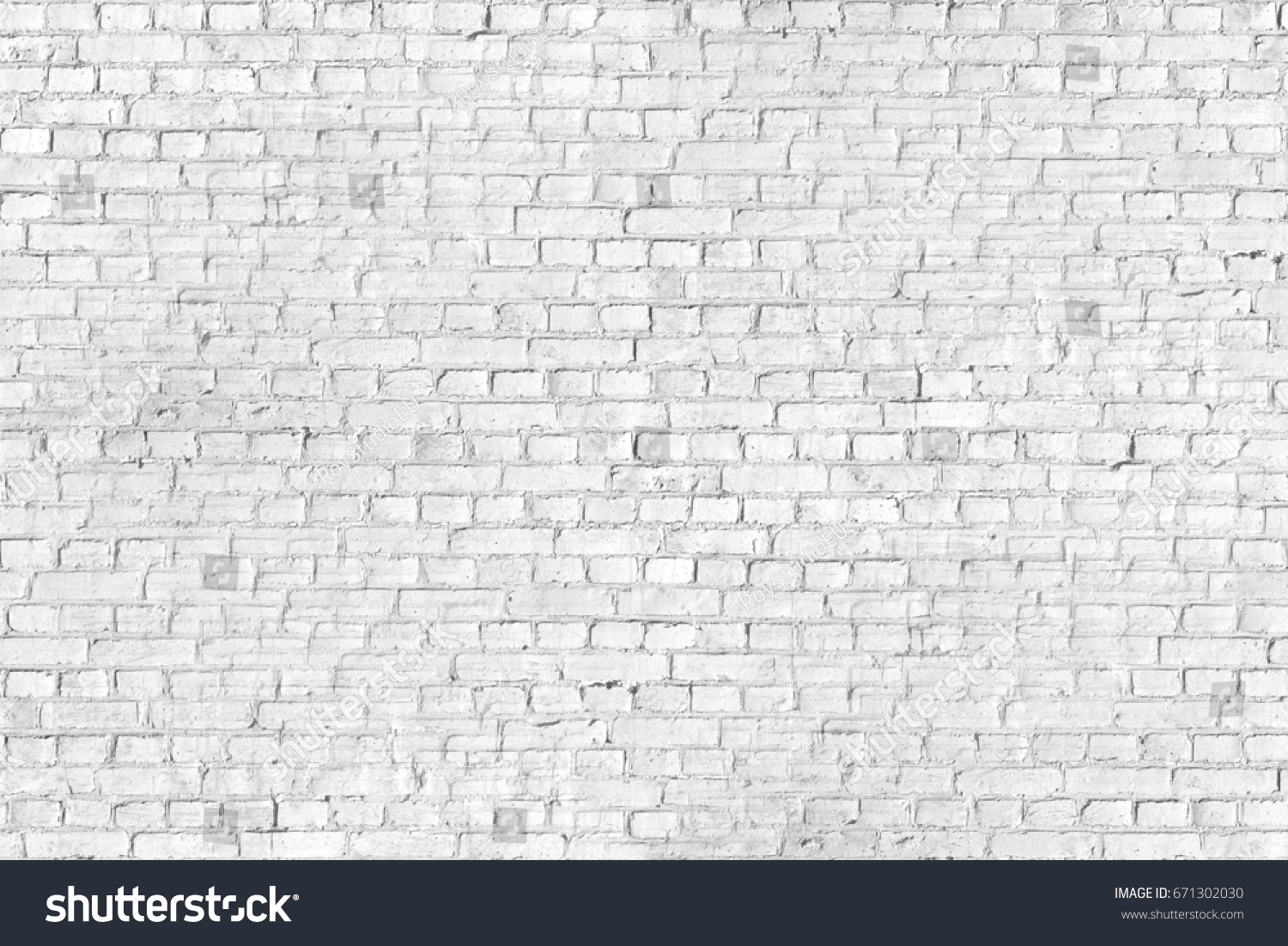 White Brick Wall Background Texture Black And Seamless Pattern