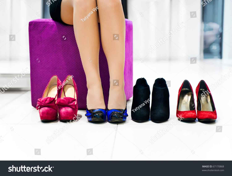 Примерка обуви фото 5 фотография