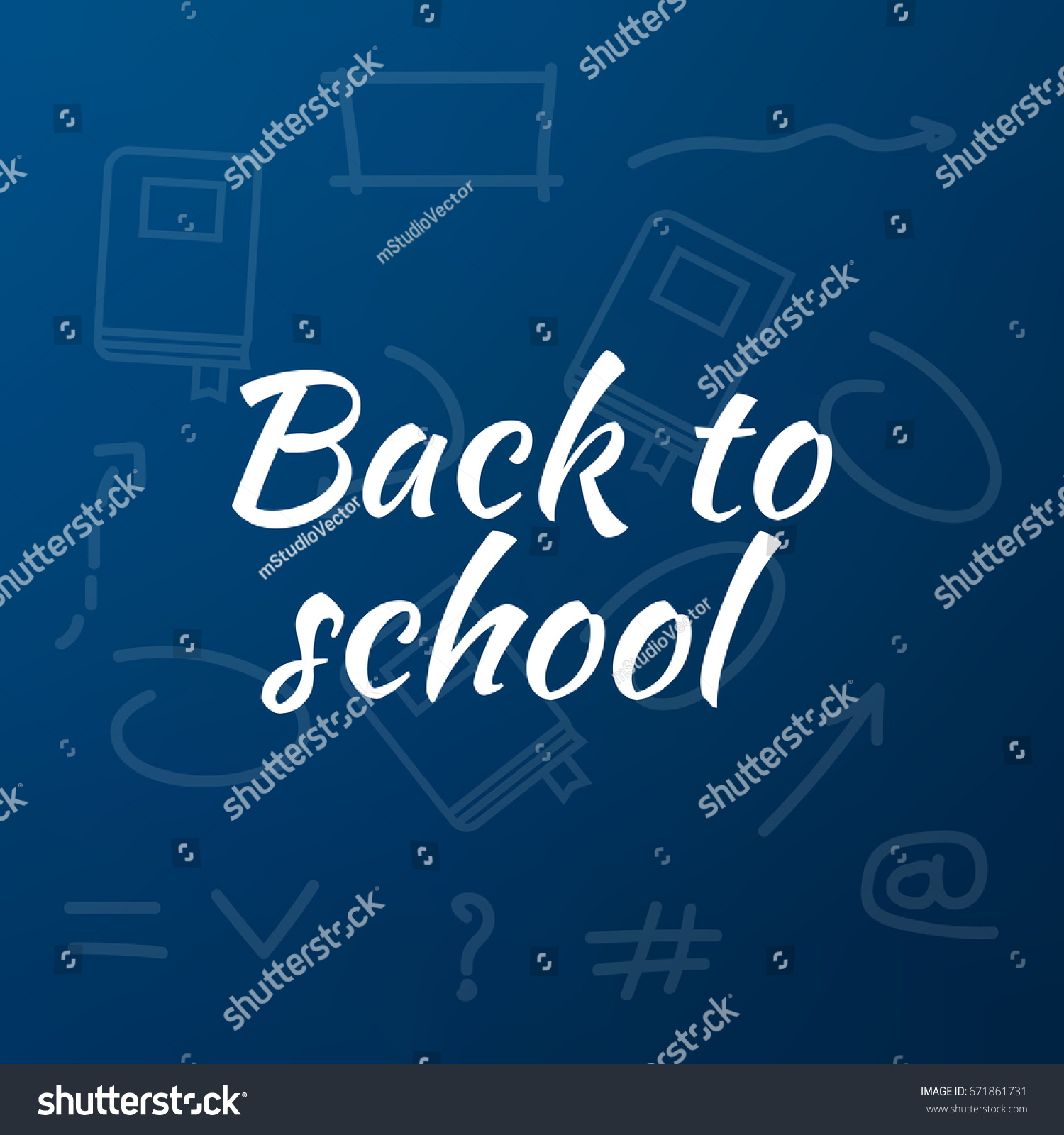 Poster design education - Back To School Poster Design Education Background Back To School Vector