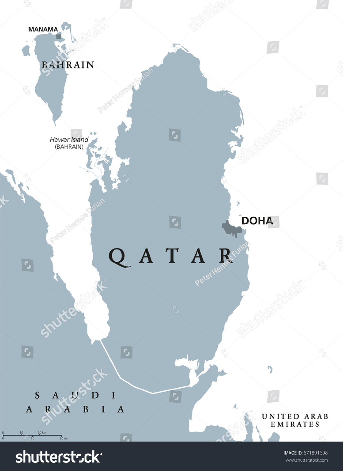 Qatar Political Map Capital Doha State Stock Vector (Royalty ... on bordeaux on world map, manama on world map, riyadh on world map, sanaa on world map, bahrain island on world map, thessaloniki on world map, cincinnati on world map, fuzhou on world map, jeddah on world map, gdansk on world map, dushanbe on world map, miami on world map, kano on world map, qatar on world map, laccadive sea on world map, pristina on world map, bhutan on world map, makkah on world map, belize city on world map, yerevan on world map,