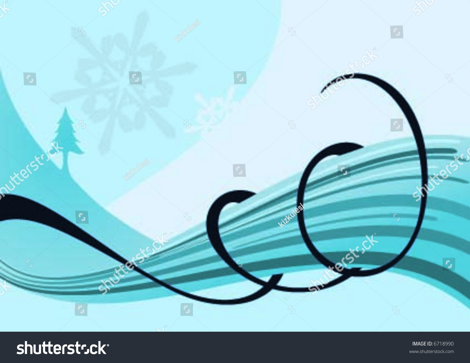 Helix On Snow Wave Stock Vector Royalty Free 6718990 Shutterstock Helical Wire Harness Lay The