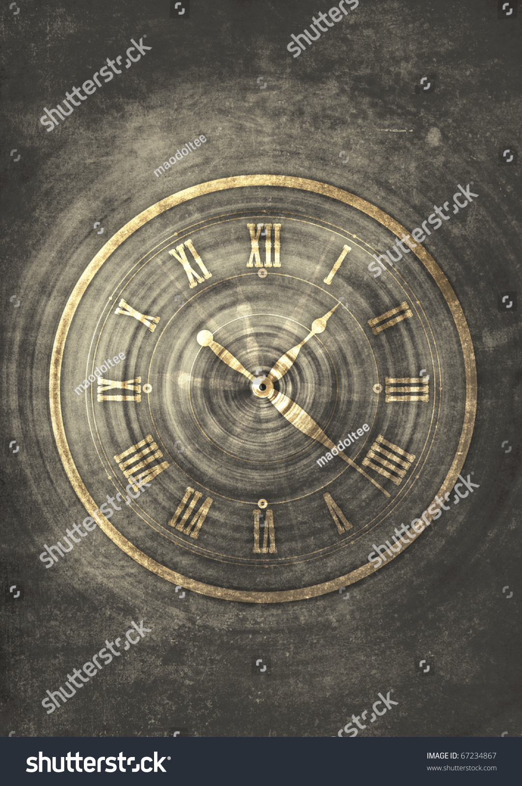 and clock abstract concept - photo #1