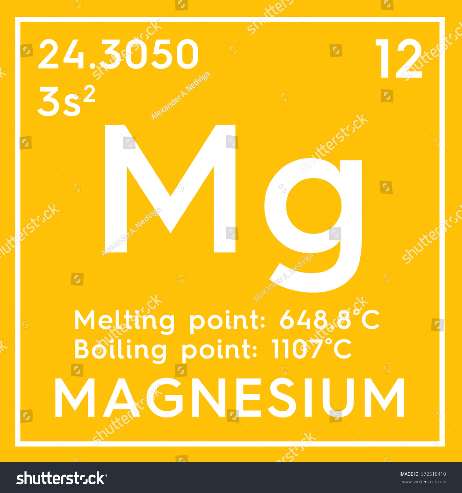 alkaline earth metals chemical element of mendeleevs periodic table in square cube