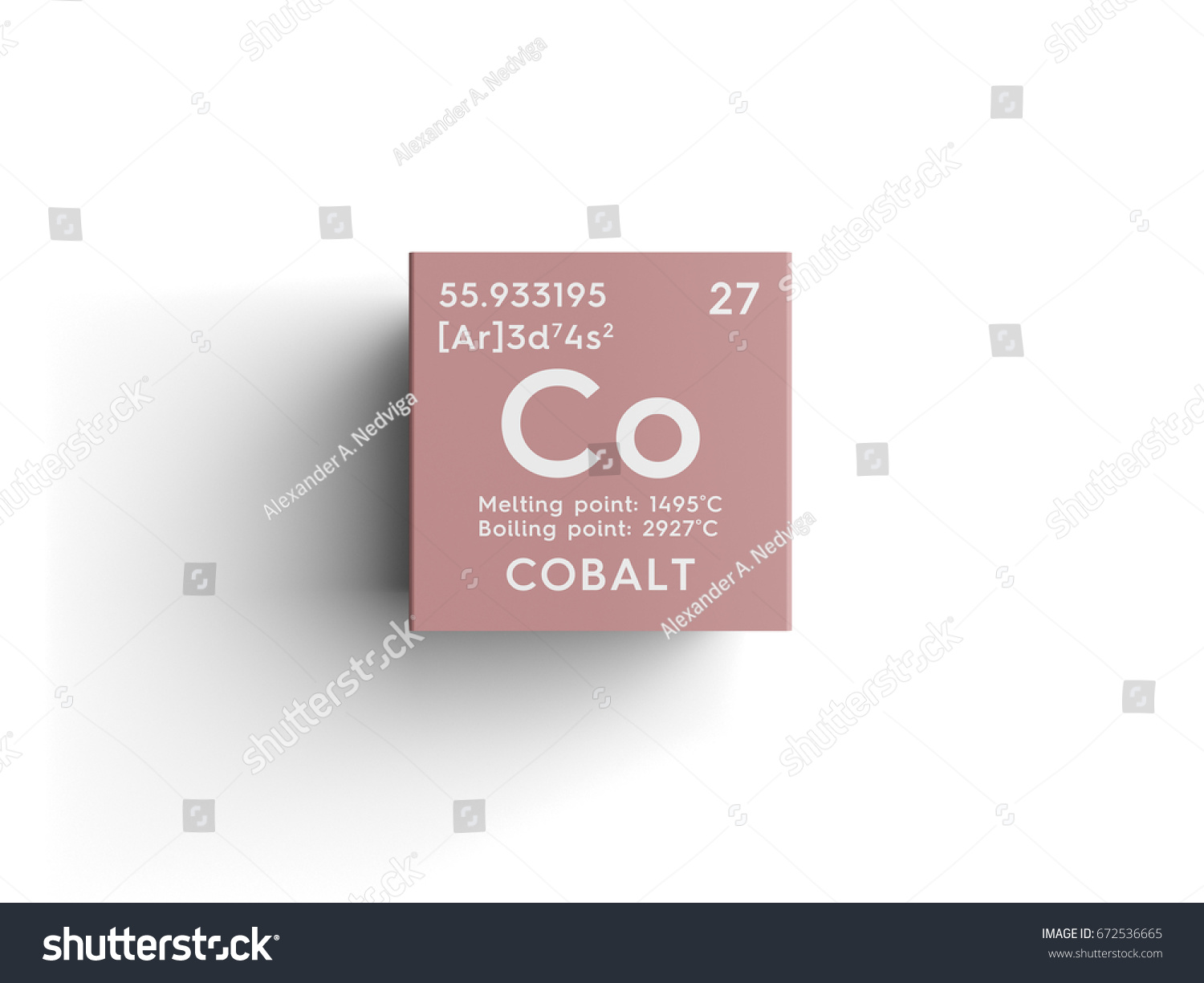 Cobalt transition metals chemical element mendeleevs stock cobalt transition metals chemical element of mendeleevs periodic table cobalt in square cube gamestrikefo Image collections