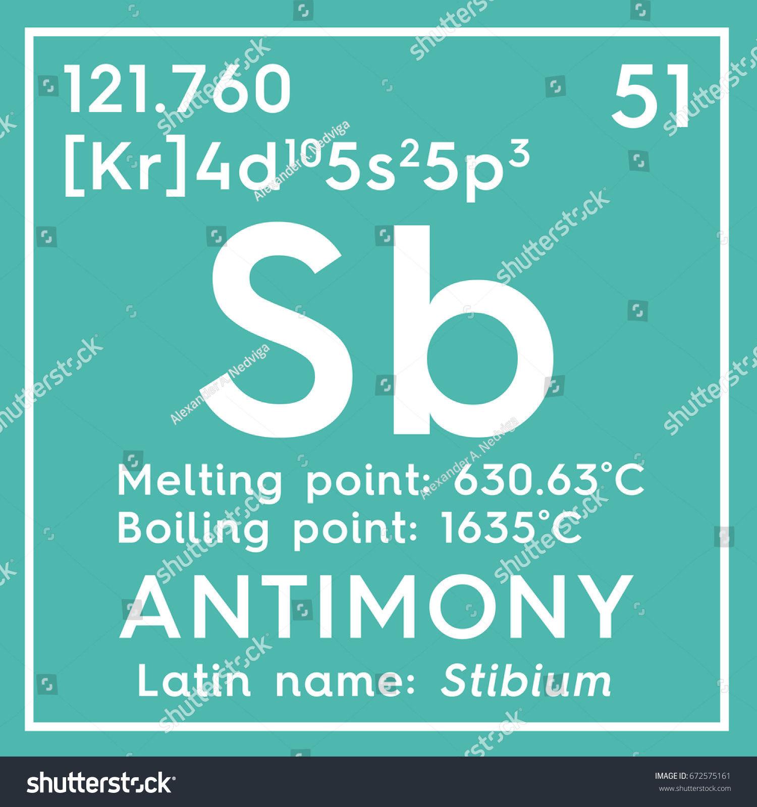 metalloids chemical element of mendeleevs periodic table antimony in square - Periodic Table Metalloids