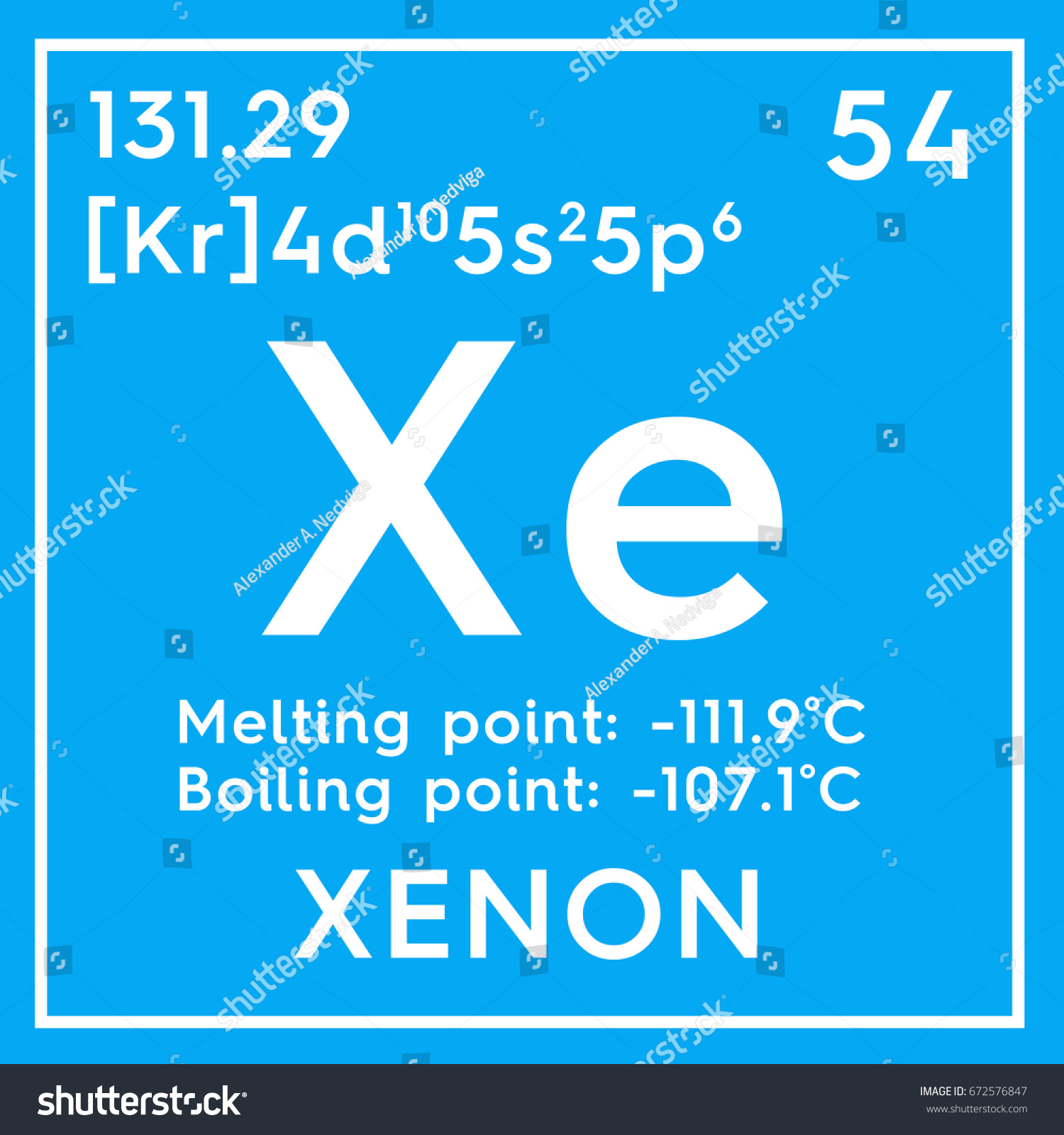 Xenon noble gases chemical element mendeleevs stock illustration noble gases chemical element of mendeleevs periodic table xenon in square cube gamestrikefo Choice Image