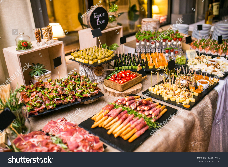 Fabulous Spanish Tapas Bar Many Delicious Food Stock Photo Edit Now Download Free Architecture Designs Scobabritishbridgeorg