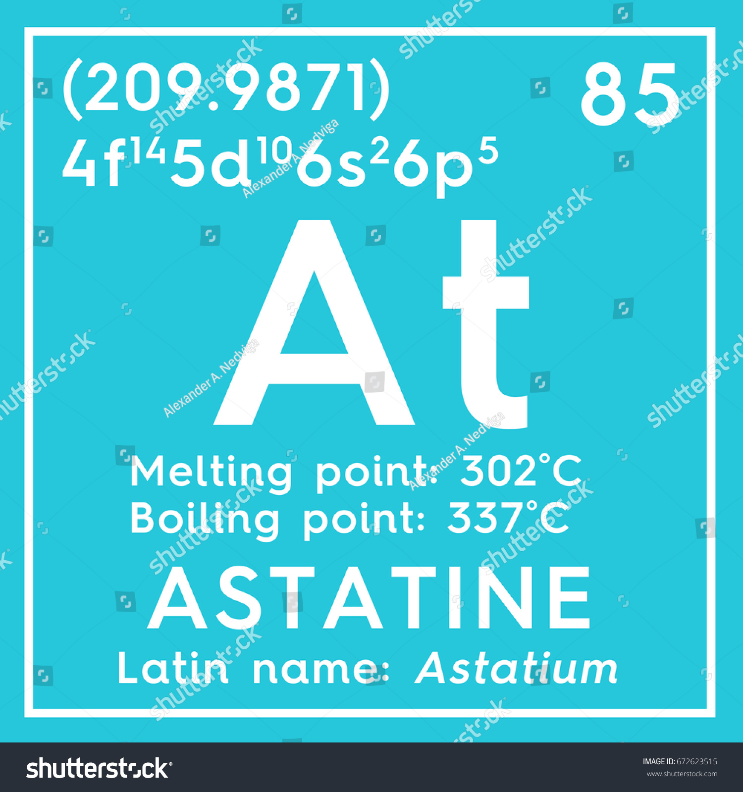 Astatine astatium halogens chemical element mendeleevs stock astatine astatium halogens chemical element of mendeleevs periodic table astatine in square gamestrikefo Image collections