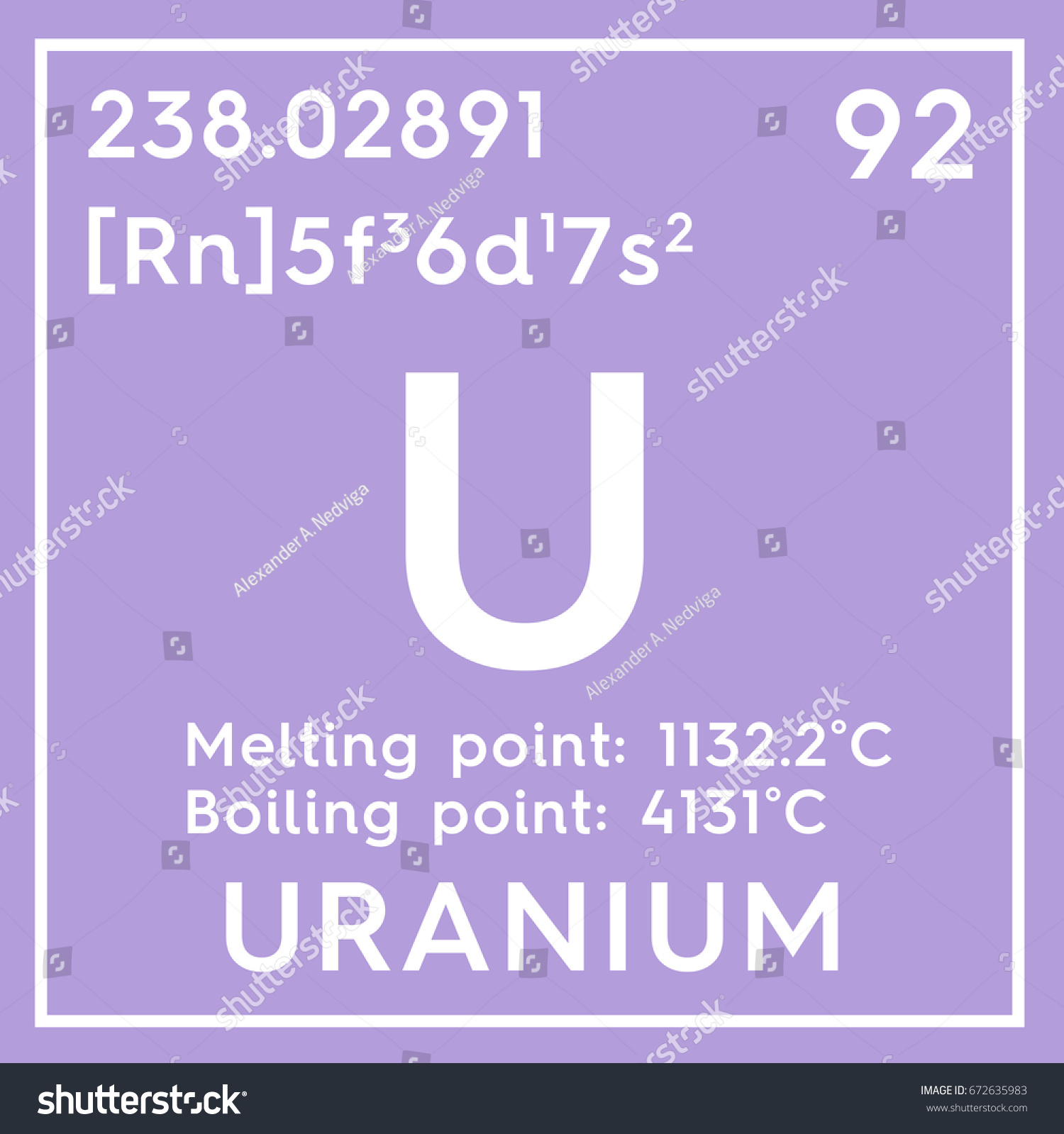 Uranium actinoids chemical element mendeleevs periodic stock uranium actinoids chemical element of mendeleevs periodic table uranium in square cube creative gamestrikefo Image collections