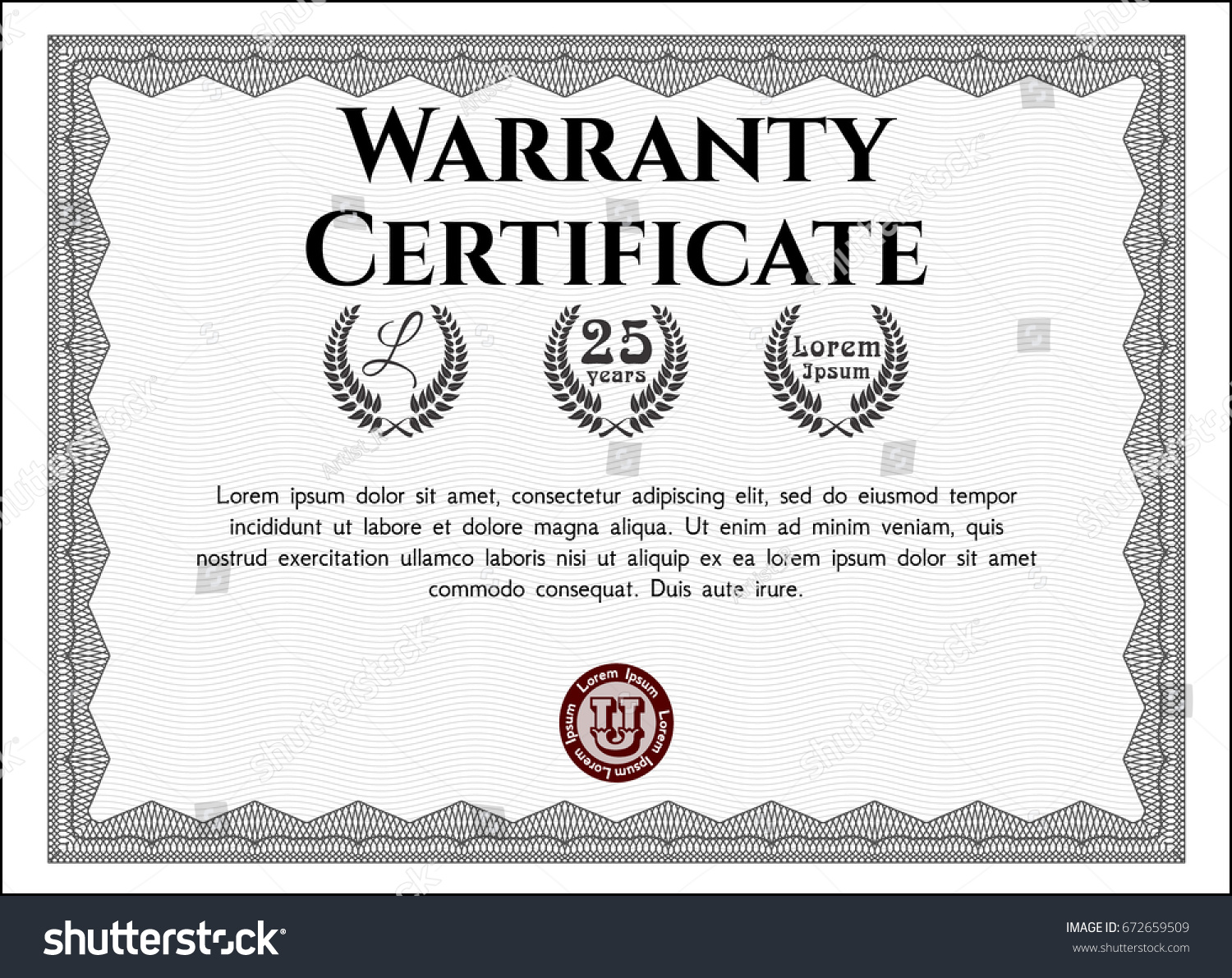 Warranty Certificate Template Word Gallery Templates Example Warranty Certificate  Template Images Templates Example Free Download Money Within Money Certificate Template