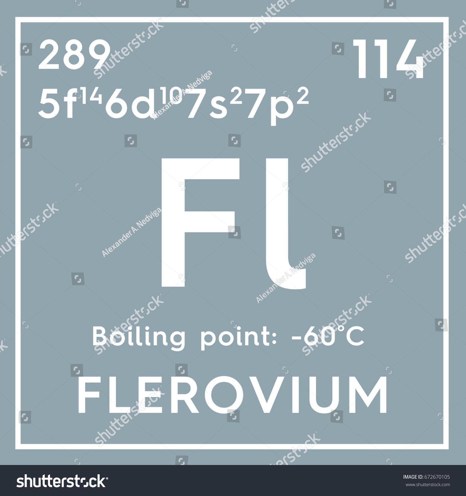 Flerovium posttransition metals chemical element mendeleevs stock post transition metals chemical element of mendeleevs periodic table flerovium in gamestrikefo Images