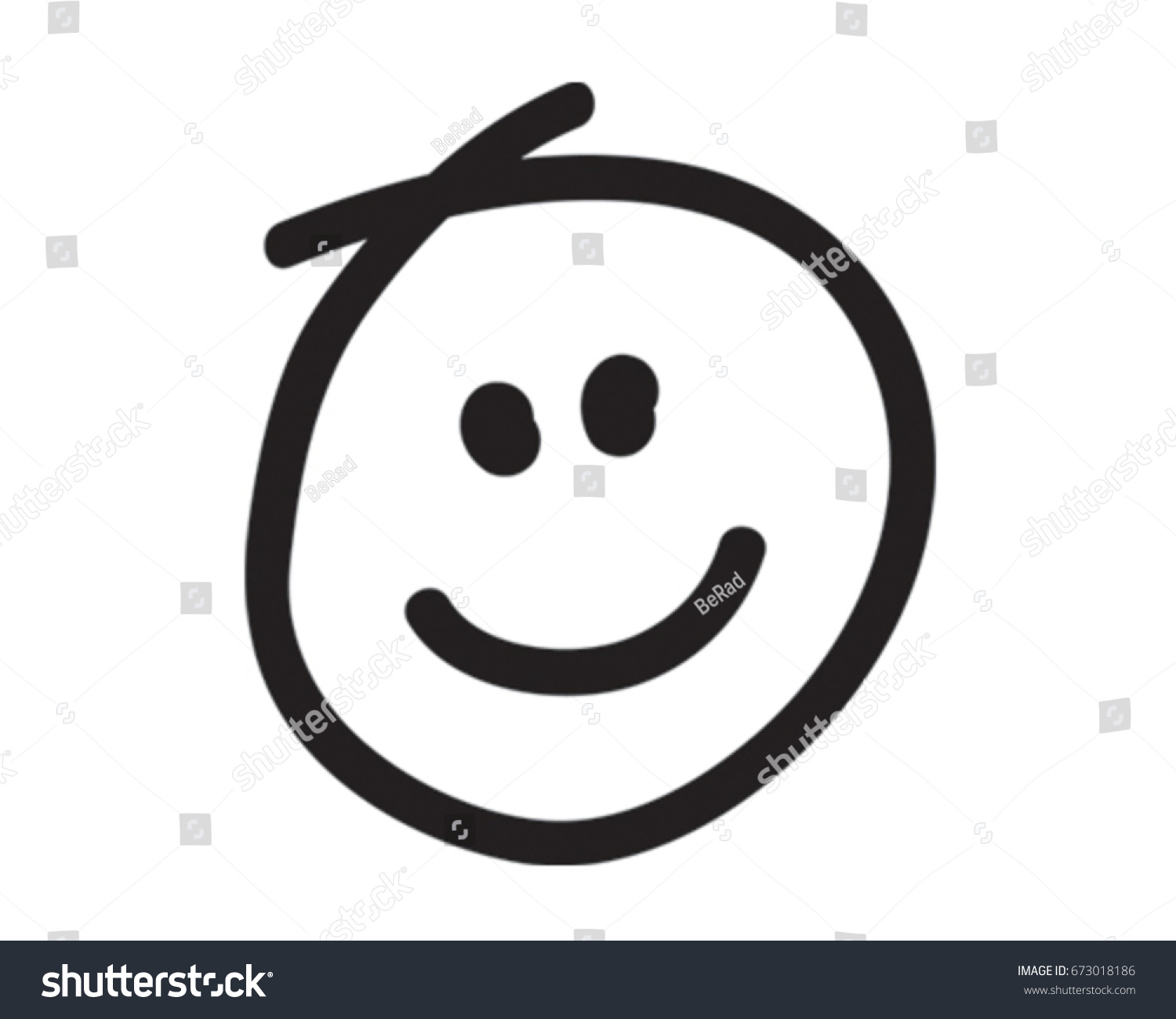 smiley face vector illustration happy icon stock vector 673018186 rh shutterstock com vector smiley face free download vector smiley face pack