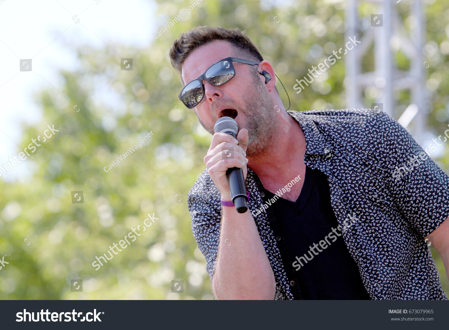 David Nail Performs On Day 3 Stock Photo 673079965 - Shutterstock
