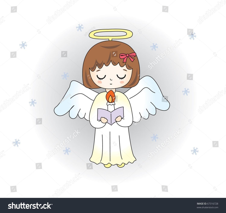 Cute Angel Stock Vector 67316728 Shutterstock