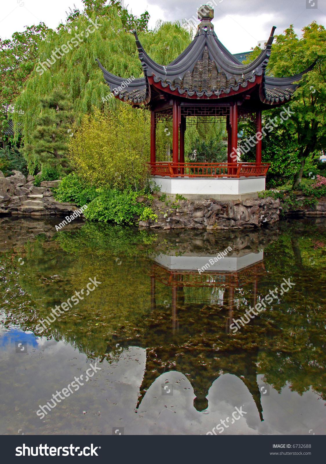 Unique Dr Sun Yat Sen Classical Chinese Garden Photo - Brown Nature ...