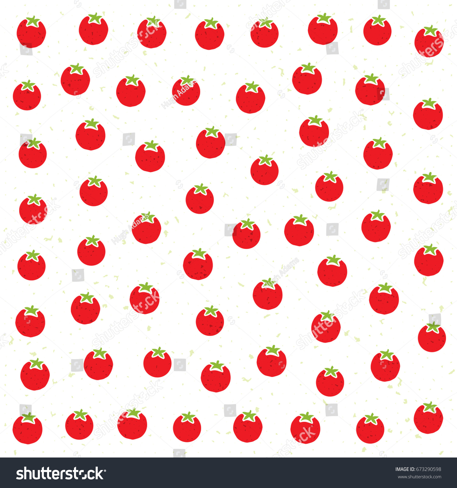 Wallpapers pattern fills web page backgrounds surface textures - Vector Pattern With Tomatoes Perfect For Wallpapers Pattern Fills Web Page Backgrounds