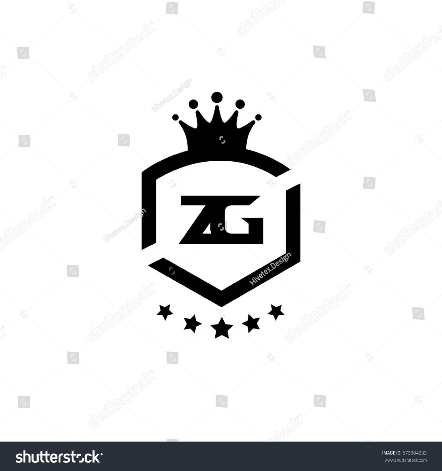 zg logo stock vector 673304233