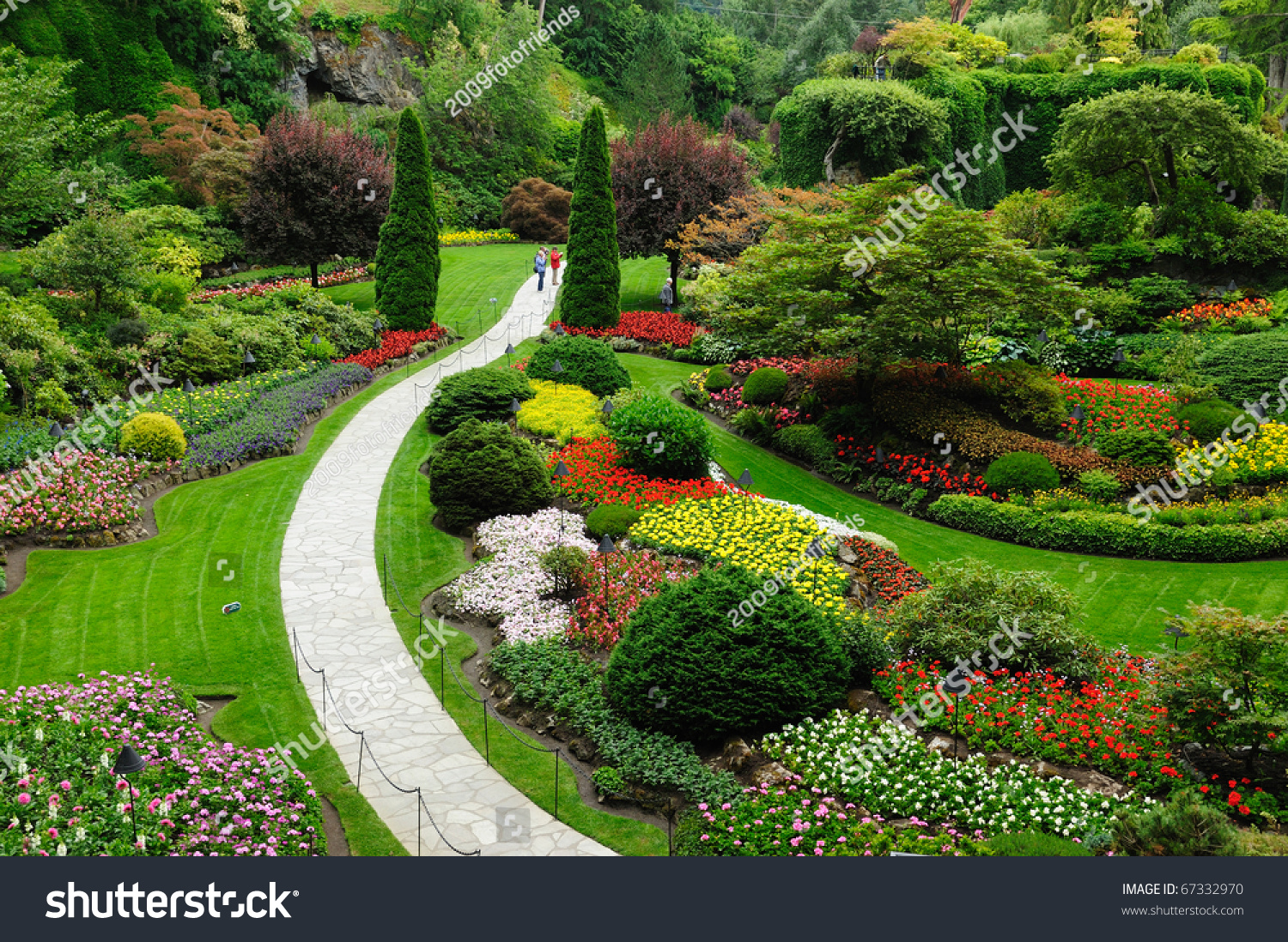 Beautiful garden spring victoria british columbia stock photo edit beautiful garden in spring victoria british columbia canada thecheapjerseys Image collections