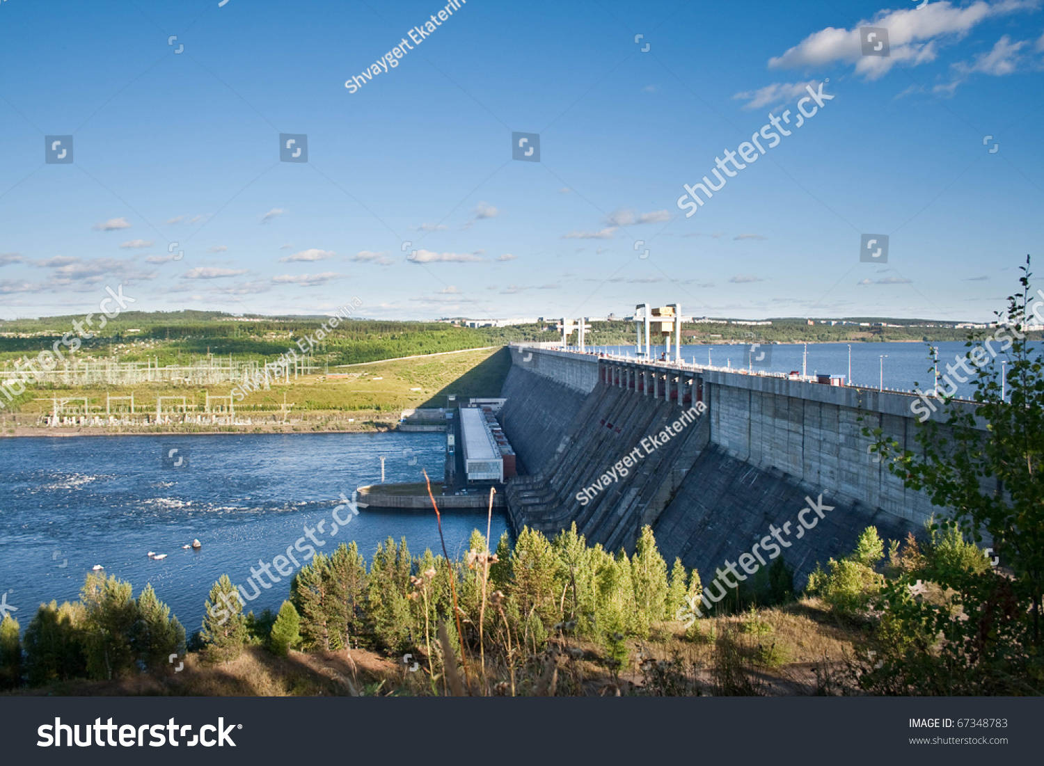 Where does the Angara River flow