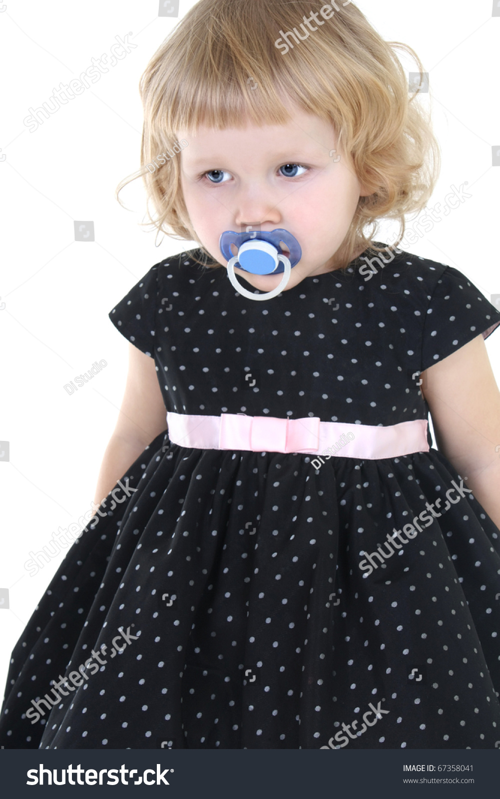 Little girl nipple