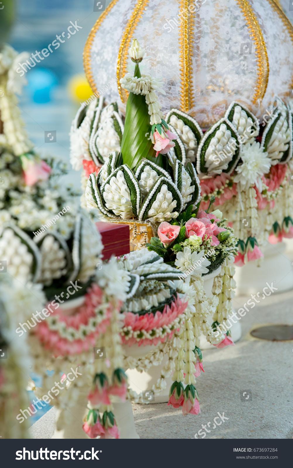 Khann Maak Settings Wedding Gifts Thai Stock Photo Edit Now