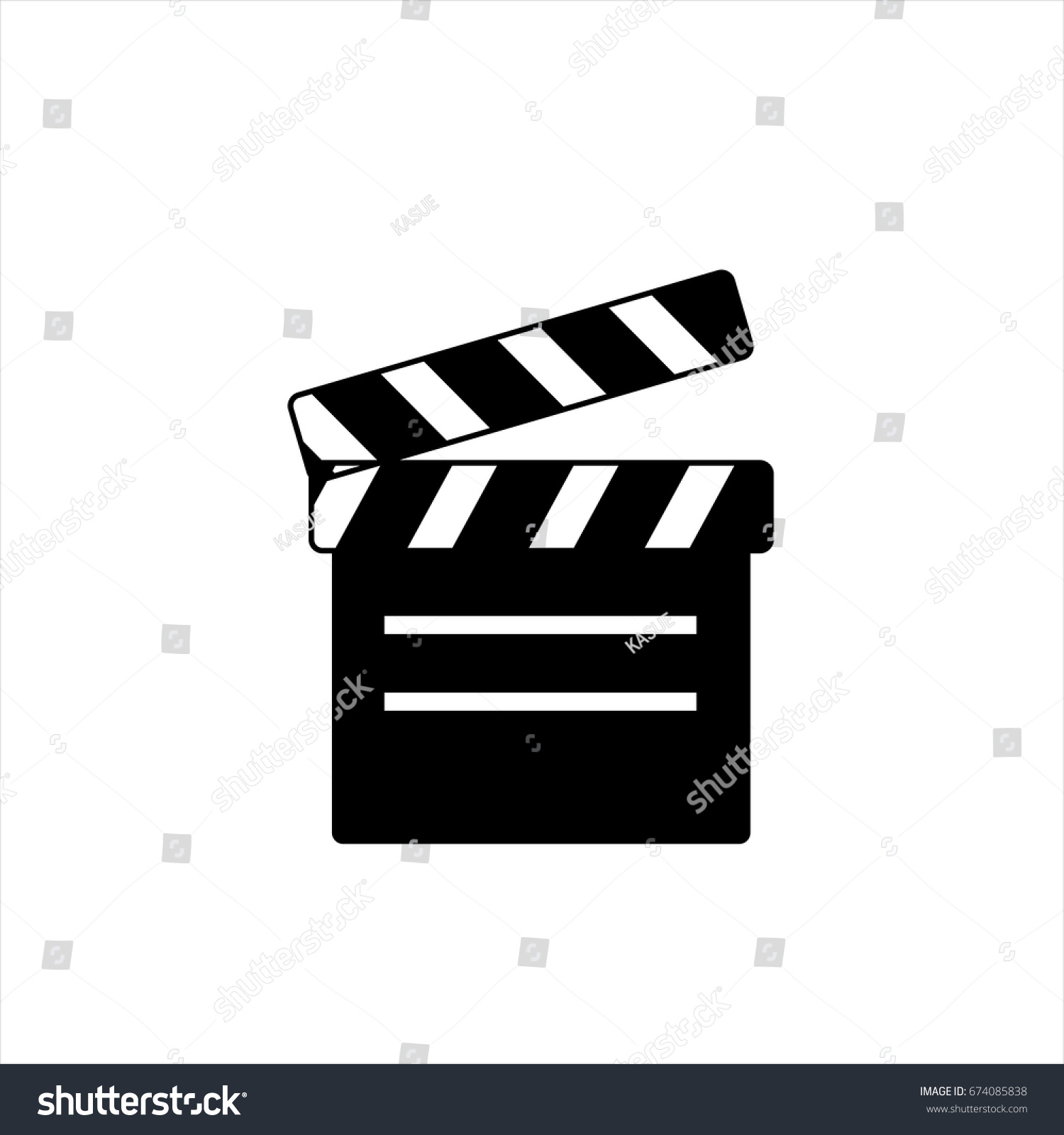 Movie icon trendy flat style isolated stock vector 674085838 movie icon in trendy flat style isolated on background movie icon page symbol for your biocorpaavc