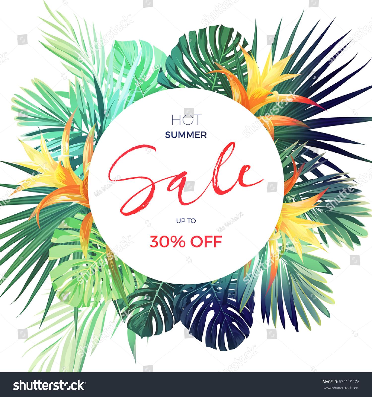 plant sale flyer template