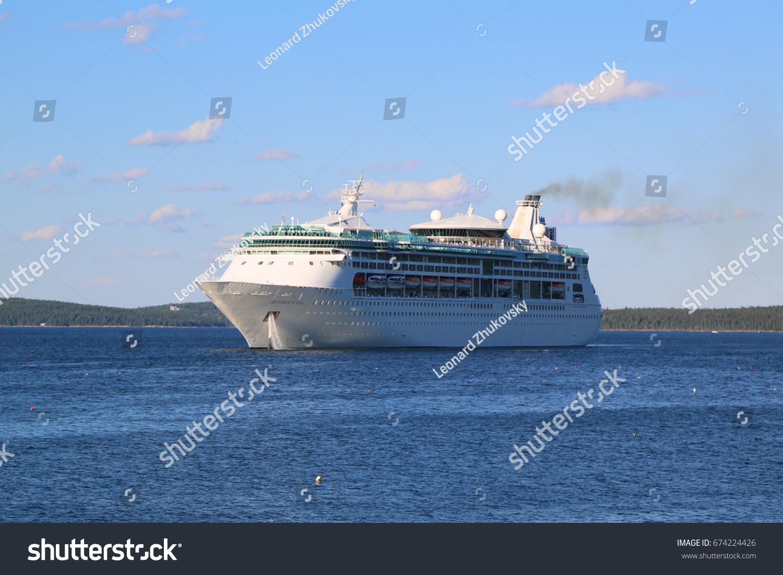 Bar Harbor Maine July Stock Photo Shutterstock - Cruise ship bar harbor