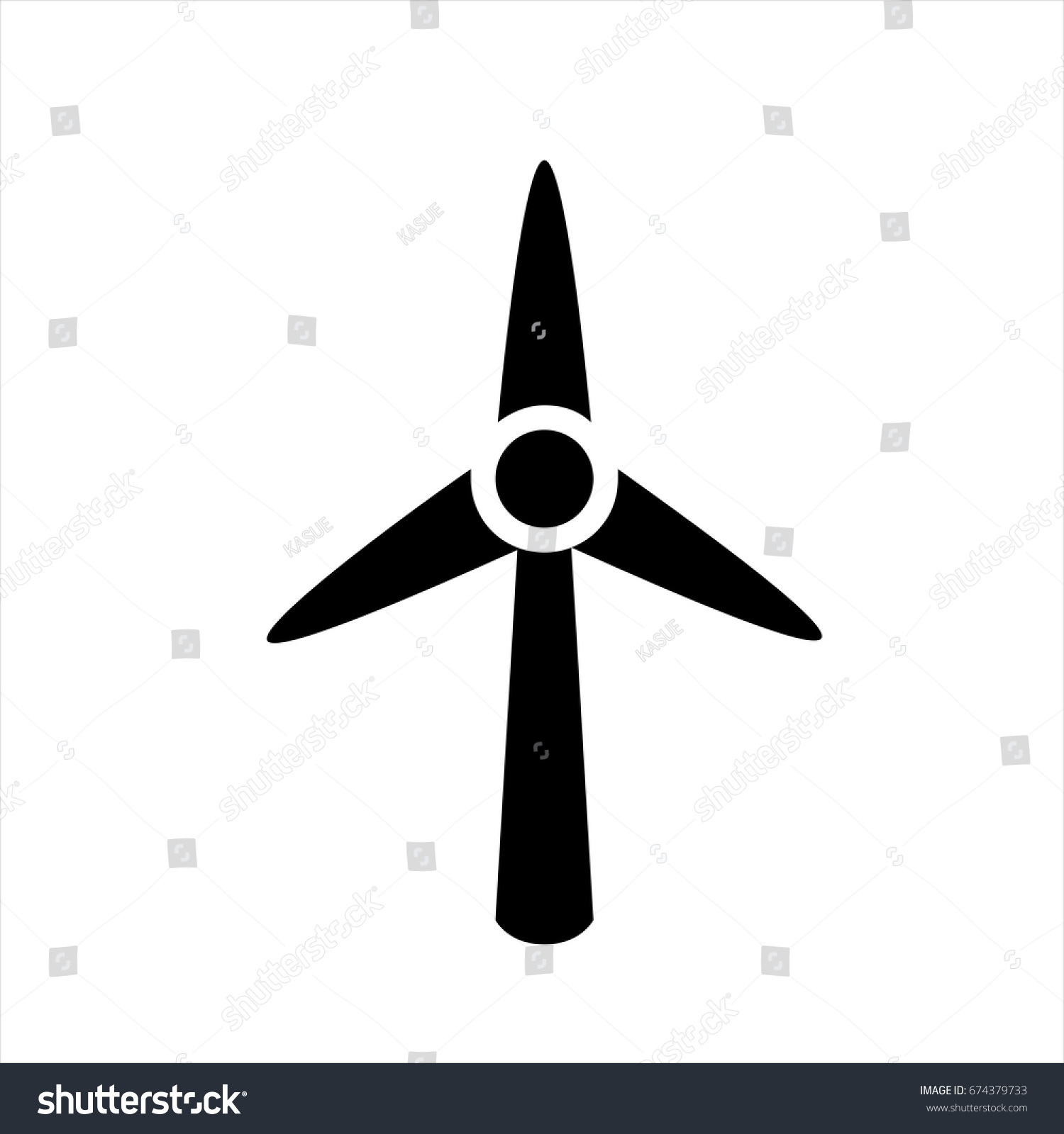 Sind Generator Icon Trendy Flat Style Stock Vector (2018) 674379733 ...