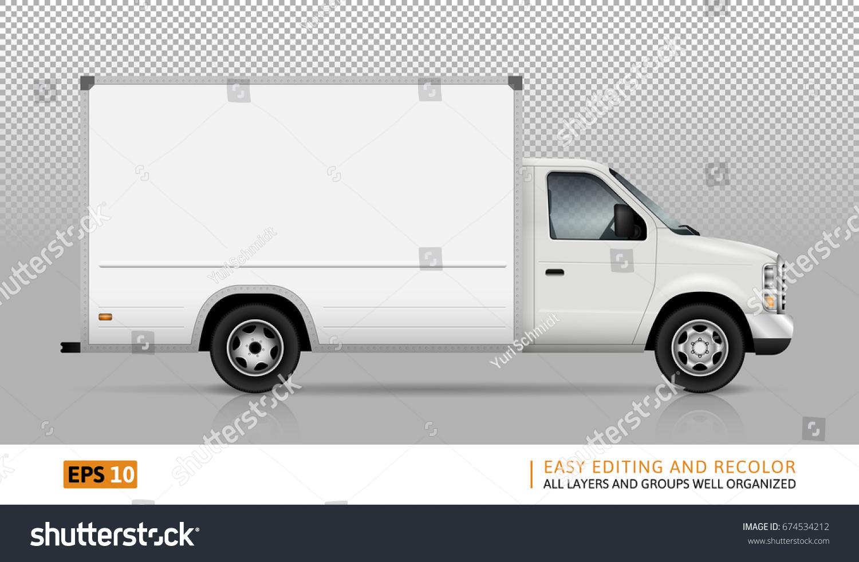 Van Vector Template Car Branding Advertising Vector de ...