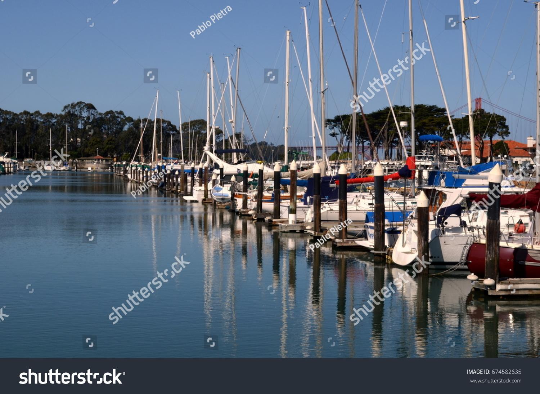 Yacht Club Sausalito Bay California Stock Photo (Edit Now