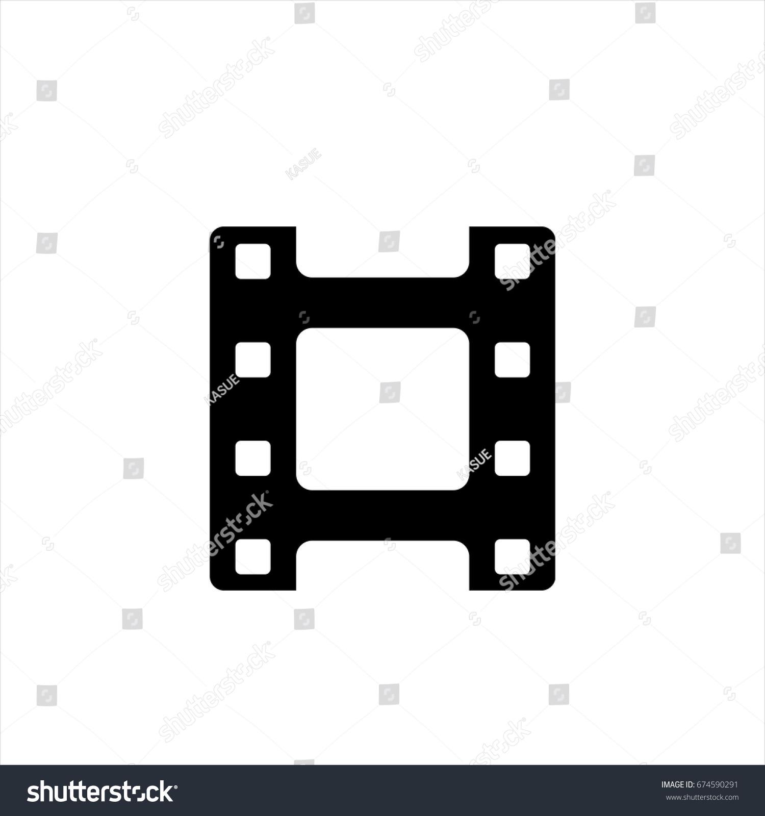 Movie film iconin trendy flat style stock vector 674590291 movie film iconin trendy flat style isolated on background movie film icon page symbol for biocorpaavc