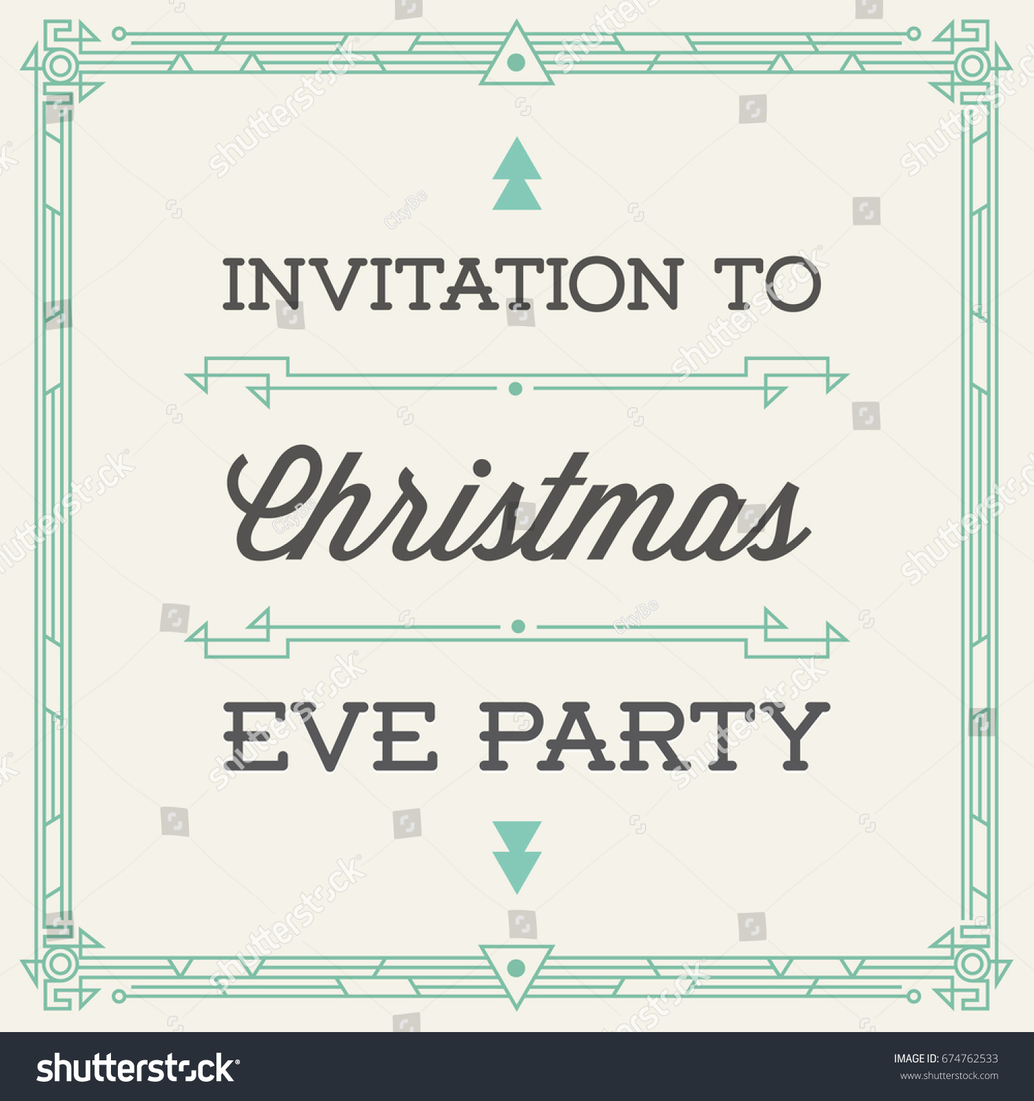 Vintage Style Invitation Wedding Save Day Stock Illustration ...