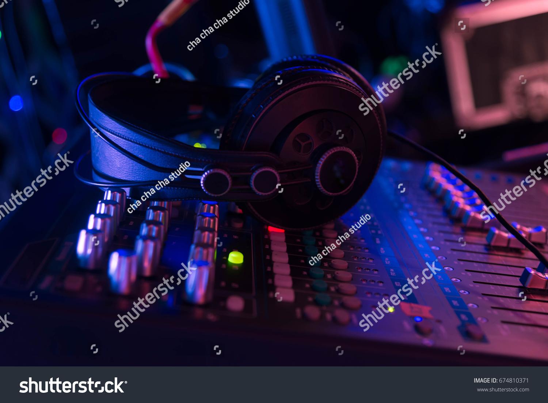 Sound Equipment Dj Play Music Edm Stock Photo (Edit Now