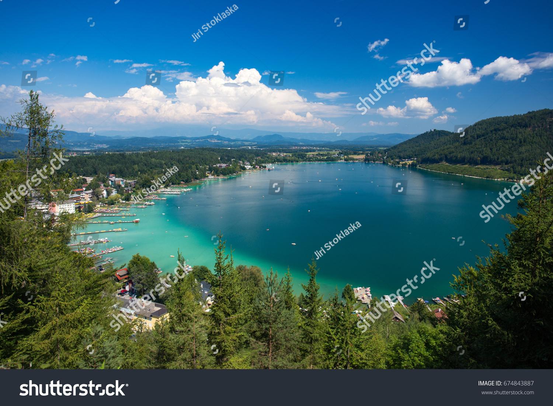 Klopeiner see Austria