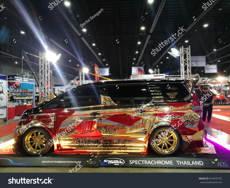 Bangkok July 5 Modified Car Show Stock Photo 674975791 - Shutterstock