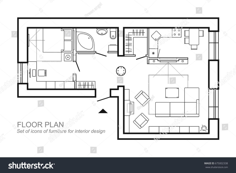 Best Architectural Floor Plan Symbols Pictures Flooring