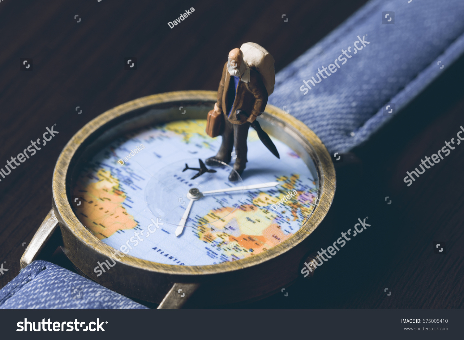 royalty map old senior travel stock image on free traveler photo banner world watches with vintage toned man