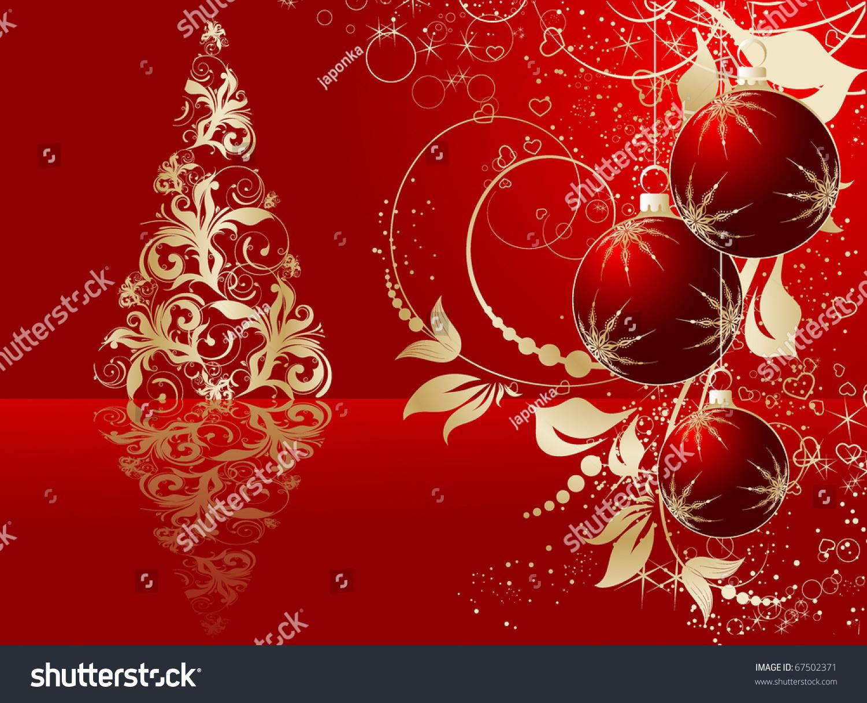 Abstract christmas theme for design stock vector for Christmas theme design