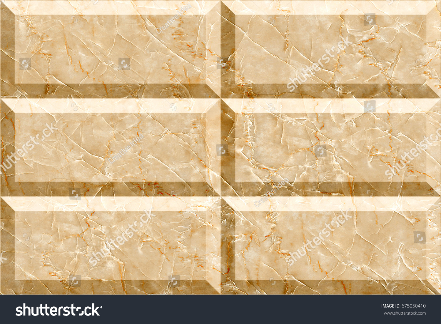 Background of stone wall made with blocks | EZ Canvas