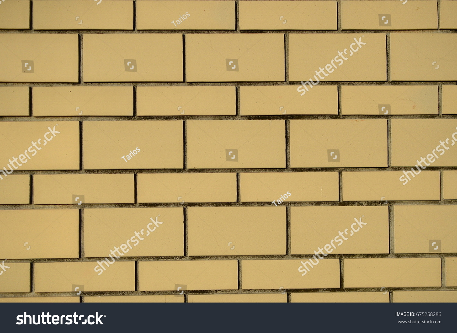 High Resolution Texture Cream Brick Wall Stock Photo & Image ...
